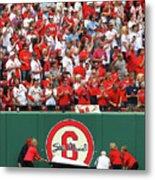 Cincinnati Reds V St. Louis Cardinals 15 Metal Print