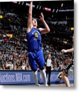 Denver Nuggets V San Antonio Spurs - Metal Print