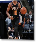 Phoenix Suns V Memphis Grizzlies Metal Print