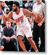 Sacramento Kings V Phoenix Suns Metal Print