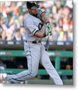 Chicago White Sox V Detroit Tigers Metal Print