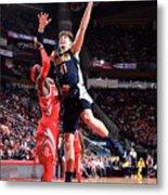 Denver Nuggets V Houston Rockets Metal Print