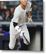 Kansas City Royals V New York Yankees 16 Metal Print