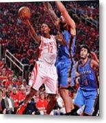 Oklahoma City Thunder V Houston Rockets Metal Print