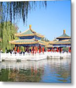 Beautiful Beihai Park, Beijing, China Photograph Metal Print