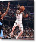 Brooklyn Nets V Cleveland Cavaliers Metal Print