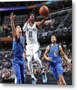 Dallas Mavericks V Memphis Grizzlies Metal Print