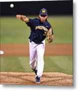 Michigan V Ucla - Game One Metal Print