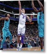 Charlotte Hornets V Sacramento Kings Metal Print