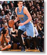 Denver Nuggets V Los Angeles Lakers Metal Print