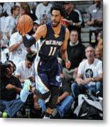 Memphis Grizzlies V San Antonio Spurs - Metal Print