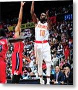 Washington Wizards V Atlanta Hawks Metal Print
