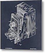 1887 Blair Photographic Camera Blackboard Patent Print Metal Print