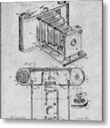 1899 Photographic Camera Patent Print Gray Metal Print