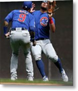 Chicago Cubs V Milwaukee Brewers 19 Metal Print