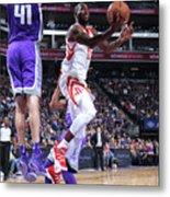 Houston Rockets V Sacramento Kings Metal Print