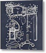 1919 Anesthetic Machine Blackboard Patent Print Metal Print