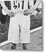 1924 Olympic 400-meter Winner Eric Metal Print