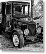1925 Ford Model T Delivery Truck Hot Rod Metal Print