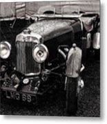 1930's Aston Martin Convertible Metal Print