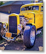 1931 Ford Model A 5 Window Coupe Metal Print