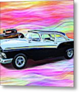 1932 And 1957 Fords Metal Print