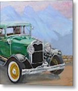 1932 Ford Model A  Metal Print