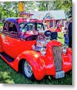 1935 Dodge Coupe Hot Rod Gasser Metal Print