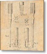 1935 Phillips Screw Driver Antique Paper Patent Print Metal Print