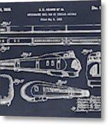 1935 Union Pacific M-10000 Railroad Blackboard Patent Print Metal Print