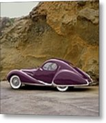 1939 Talbot-lago Model T 150 Ss With Metal Print