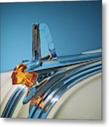 1953 Pontiac Hood Ornament Metal Print