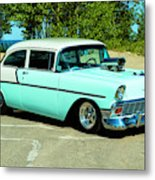 1956 Chevrolet Custom Model 2010  Metal Print