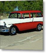 1956 Chevrolet Handyman Station Wagon  Metal Print
