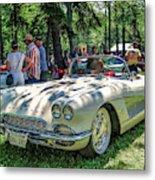 1961 Chevrolet Corvette 002 Metal Print