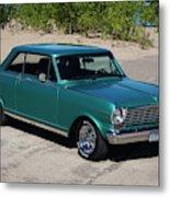 1963 Chevrolet Nova Ss Metal Print