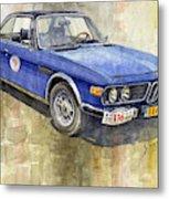 1972 Bmw 3.0 Csi Coupe  Metal Print