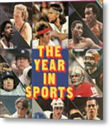 1981 Year In Sports Issue Sports Illustrated Cover Metal Print