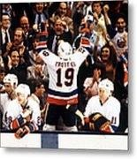 1983 Stanley Cup Finals - Game 4 Metal Print