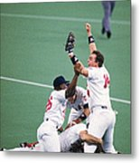 1987 World Series  St. Louis Cardinals 1987 Metal Print