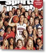 2014 March Madness College Basketball Preview Part II Sports Illustrated Cover Metal Print