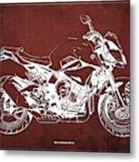 2019 Yamaha Mt-10 Original Artwork Gift For Bikers Garage Decoration Metal Print