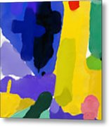 Abstract, Which Consists Of A Plurality Metal Print