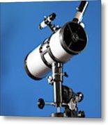 Amateur Astronomical Telescope Metal Print