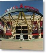 Angel Stadium Of Anaheim Metal Print