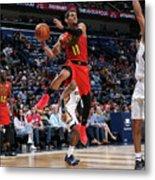 Atlanta Hawks V New Orleans Pelicans Metal Print
