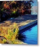 Autumn Colors In Kearney Lake Metal Print