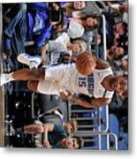 Brooklyn Nets V Orlando Magic Metal Print