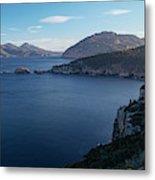 Carp Bay In Freycinet National Park Metal Print