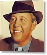 Charles Laughton, Vintage Actor Metal Print